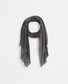 Dot Textured Scarf