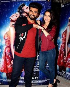 Arjun Kapoor, Shraddha Kapoor, Half Girlfriend, Pretty And Cute, Special Person, Photo Poses, Girlfriends, Portrait Photography, Most Beautiful