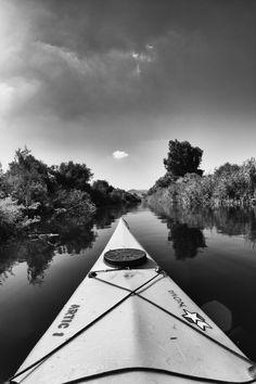 Fiume canoa in sardagna