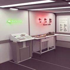 Fun 3D set design/ illustration project! by Dusan23