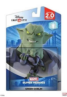 #macgames #tradein Disney INFINITY Disney Infinity: Marvel Super Heroes (2.0 Edition) Green Goblin Figure http://www.gameanouncement.com/games/disney-infinity-disney-infinity-marvel-super-heroes-20-edition-green-goblin-figure-mac-com/