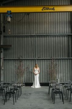 Industrial Warehouse Wedding Ideas
