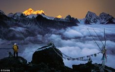 The lure of the Himalayas attracts more than 100,000 trekkers, including 40,000 Brits, each year to Nepal. Visitor numbers to Everest have doubled since the end of the civil war there in 2006
