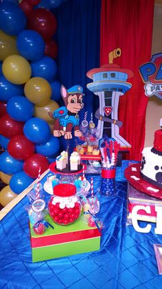 Paw Patrol Party, Paw Patrol Birthday, 3rd Birthday, Birthday Parties, Paw Paw, Baby Party, Ideas Para, Party Planning, Birthday Candles