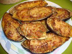 Ingredientes   2 berinjelas cortadas em fatias grossas   2 dentes de alho amassados   2 colheres (chá) de azeite   1 colher (chá) de sal ...