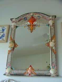 Artisan Shell Mirror