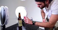 How to Capture a Complex 5-Light Beer Bottle Product Shot from Start to Finish | The Dream Within Pictures
