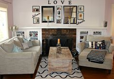 10 DIY Living Room Decor Will Make Your Living Room The Coziest Place in the House | #LivingRoomDecor Tags: living room wall decor, living room wall decor ideas, home decor ideas for living room, small living room decor, modern living room decor, home decor living room, living room decor pictures, simple living room decor, living room decor images