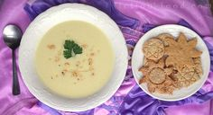 "Hazelnut Soup from ""Tangled"" + Hazelnut Crackers!"