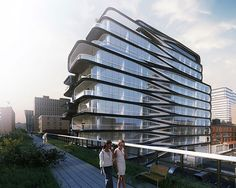 First Look: See Inside Zaha Hadid�s Futuristic High Line Condos