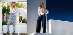 #island_look Summer 2014, Spring Summer, Summer Collection, Island, Coat, Pants, Jackets, Fashion, Trouser Pants