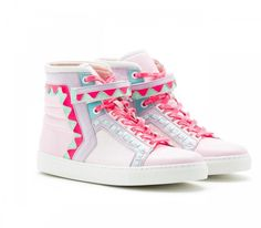 Rika hi-top sneakers from the Barbie x Sophia Webster shoe collection