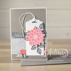 The Artisan Design Team returns today to share projects featuring the Flourishing Phrases stamp set and coordinating Flourish Thinlet Die...