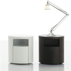 Poliform Teo Night Table - Style # CDTE, Modern Bedside Tables & Nightstands | End Tables | Contemporary Small Bedside Table | SwitchModern.com