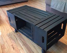 Mesa de centro del cajón de madera