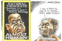 Zapiro: A statement worthy of Homo naledi - Mail & Guardian