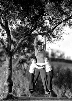 Buster Keaton, and sons.