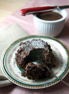 Recipe: Steamed Chocolate Pudding Cakes | Kitchn