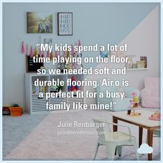 New Soft Flooring for all the Play Time! Soft Flooring, Mohawk Flooring, Flooring Options, Vinyl Flooring, Good Week, Peace Of Mind, Playroom, Perfect Fit, Action