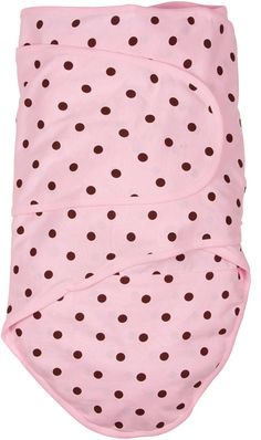 Miracle Blanket Baby Swaddle Blanket, Pink with Chocolate Polka Dots Miracle Blanket Best Baby Blankets, Baby Swaddle Blankets, Cotton Blankets, Miracle Blanket, Pink Chocolate, Swaddle Wrap, Wearable Blanket, Pink Brown, Baby Love