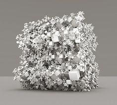 Gallery of Mathematical and Generative Art • subblue  Pinned by www.modelina-architekci.com