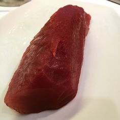 Deep ruby #skipjack red. Just as good as yellowfin in my book. #offshore #tuna #danapoint #oceanside #socal #instafishing #sashimi #tataki #sushi by seafarmtable