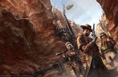 Steam States cover art, Javier Charro on ArtStation at https://www.artstation.com/artwork/14E6L