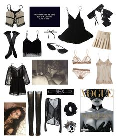 """""""Untitled #380"""" by brookej659 ❤ liked on Polyvore featuring Razu Mikhina, Trasparenze, Reger by Janet Reger, HAMNETT, Gold Hawk, Elle Macpherson Intimates, Wilfred, Zimmermann, Chanel and Alternative"""
