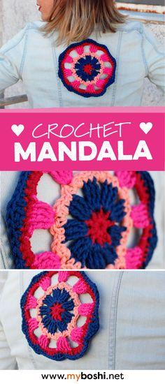 34 besten DIY: Mandala häkeln Bilder auf Pinterest in 2018 | Yarns ...