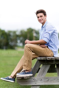 Photo by Brian Slawson Photography. Senior photos. #seniorportrait #highschool #classof2016 #outdoor