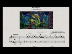 Instead of the traditional bridal march: Prologue - Beauty And The Beast (piano sheet music)
