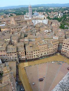 Piazza del Campo: Storia di Piazza del Campo a Siena, Toscana