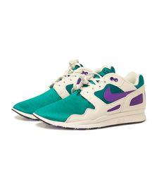 Nike Air Flow: Teal/Purple/White