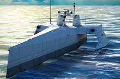 US Navy's terrifying robot boat drone automatically seeks out and follows submarines - Mirror Online
