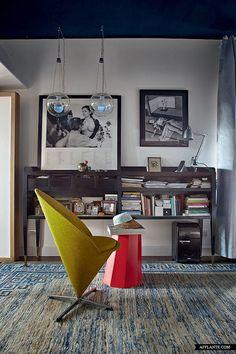 Fusion Style Apartment of Nina Yashar, Nilufar Design Gallery Owner   Afflante.com