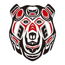 TRIBAL GRIZZLY (haida style mix) is a T Shirt designed by TurkeysDesign to illustrate your life and is available at Design By Humans Native American Totem, Native American Design, Native Design, American Indian Art, Native American Fashion, Haida Tattoo, Haida Kunst, Haida Art, Arte Tribal