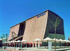 Japan Pavilion by Tadao Ando