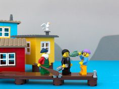 Jeff Friesen has built and photographed a Lego scene for every province and territory. This is Newfoundland. Really neat.