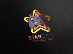 Star Game Logo by essegraphic on Creative Market #star #game #logo