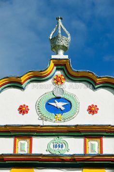 Império of Ribeirinha, where are celebrated the Espírito Santo festivities. Terceira, Azores islands, Portugal