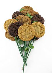 Offering same day Cookie Gift Delivery in the Toronto area. Great gifts for a birthday or anniversary celebration. Happy Birthday Bouquet, Happy Birthday Cookie, Birthday Cookies, Cookie Bouquet, Flower Cookies, Cookie Delivery, Gift Delivery, Cookie Gifts, Flower Arrangements