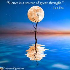 Silence #inspirational