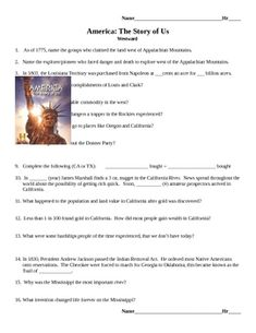 America the Story of US Episode 5 Quiz and Worksheet   Quizes ...