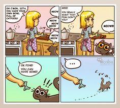 hahah, soooo true XDD  The one about principles | Catsu The Cat