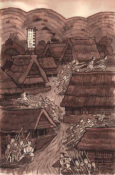 Seven Samurai by Scott C(ampbell)