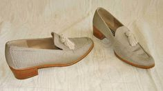 Smoking Slippers Tassel Stuart Weitzman Flats Shoes Loafers Moccasin Shoes 9AA  #StuartWeitzman #flats