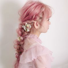 dyed hair everywhere Kawaii Hairstyles, Pretty Hairstyles, Hair Inspo, Hair Inspiration, Pelo Multicolor, Photographie Portrait Inspiration, Hair Reference, Dye My Hair, Aesthetic Hair
