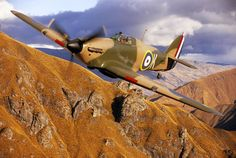Hawker Hurricane IIA Fighter Plane