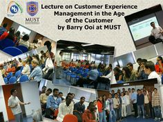 Lecture at MUST, Malaysia