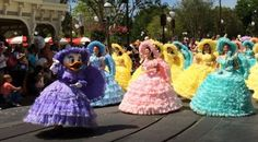 Easter Must-Dos at Walt Disney World - Easter Parade and the Azalea Trail Maids